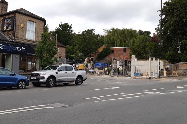 Work is finally underway to redevelop a long empty petrol station site on Springvale Road, Walkley
