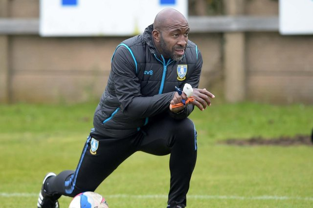 New Sheffield Wednesday manager Darren Moore.Photo: SWFC