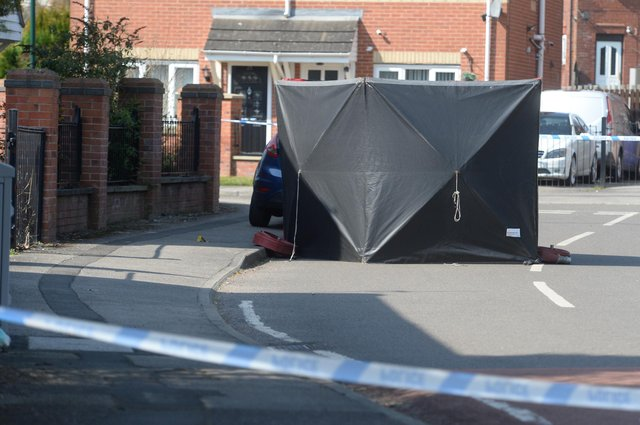 A 32-year-old man was murdered on the Manor estate in Sheffield this morning