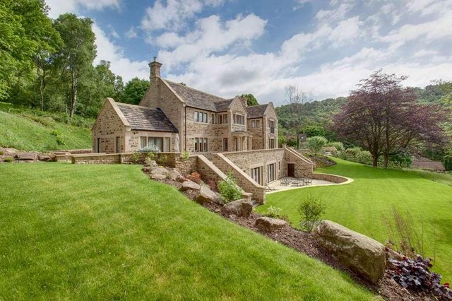 Burbage House is on the market for just under £2.5 million.