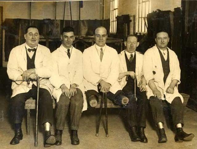 Painted Fabrics employees, 1930s