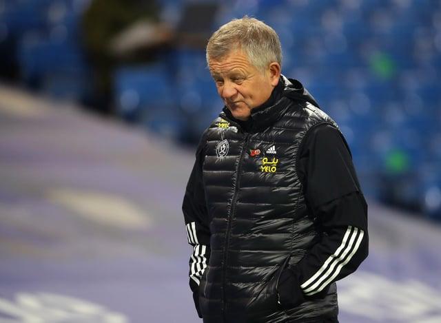 Chris Wilder left Sheffield United after twice winning promotion: David Klein/Sportimage