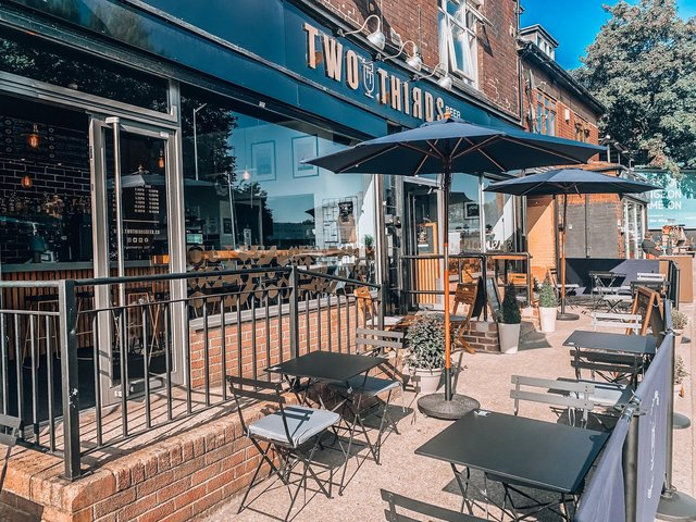 Two Thirds on Abbeydale Road has taken over 500 bookings for its outdoor area, which is fully booked when outdoor hospitality reopens on Monday, April 12