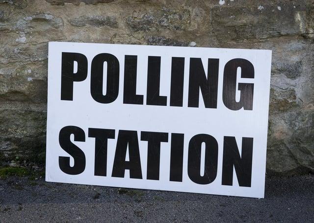 Polling Station Stafford Road Sheffield.