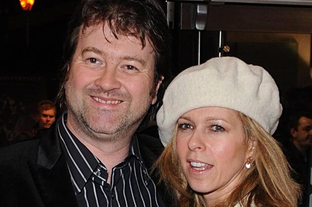 GMB presenter Kate Garraway with her husband, Derek Draper - PA