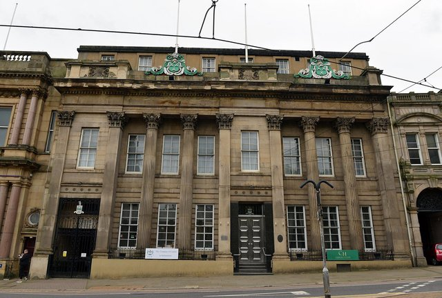 Cutlers' Hall in Sheffield city centre