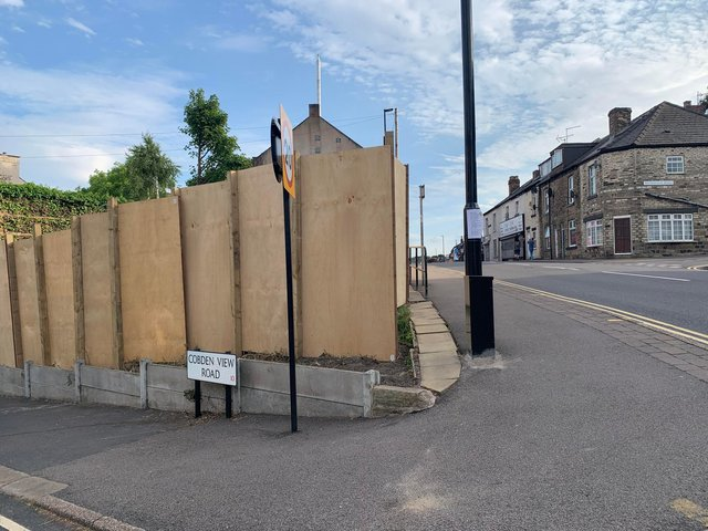 Controversial plans to build a block of apartments on a community garden at Crookes have been resubmitted