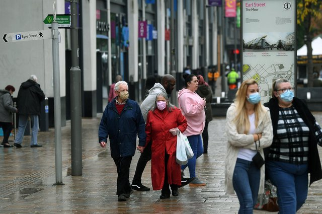 These are all the places where you will still have to wear a mask in Sheffield when Covid restrictions lift for Freedom Day on July 19. Picture: Jonathan Gawthorpe.