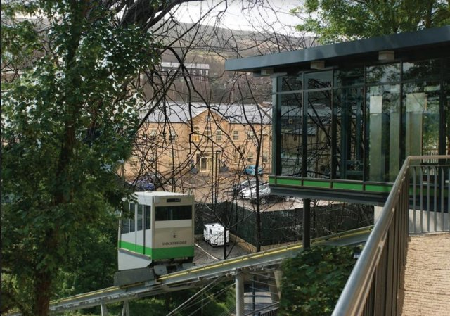 How The Stocksbridge Funicular Could Look (image Welcome to Stocksbridge)