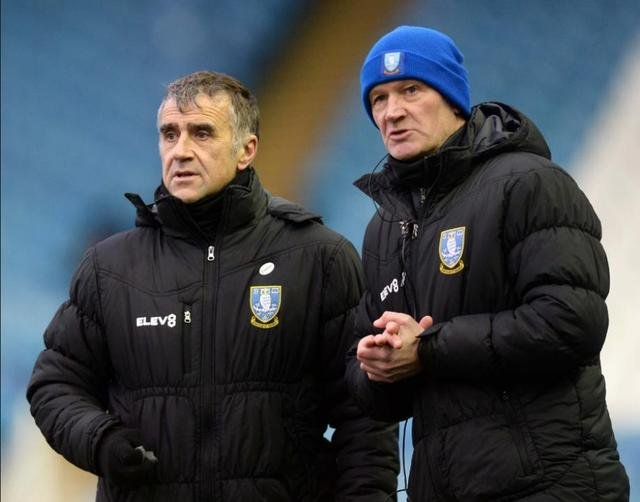 Neil Thompson and Lee Bullen have been reshuffled in Darren Moore's Sheffield Wednesday backroom staff.