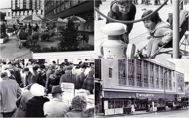 Sheffield shops from back in the day