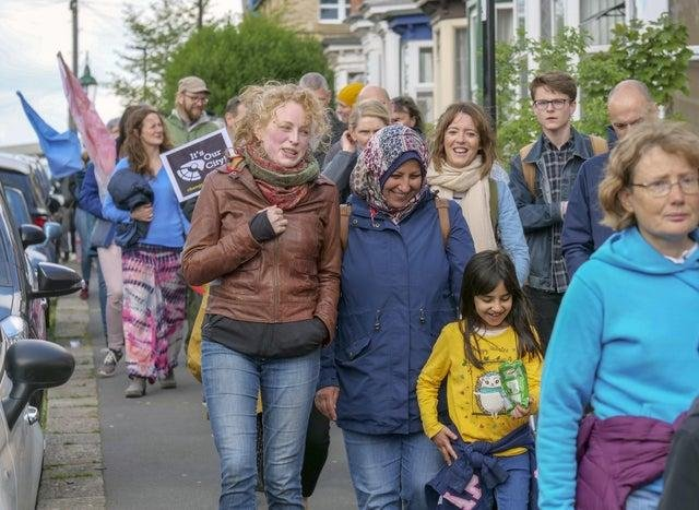 Mums United Sheffield Walk for Peace event in 2019. Picture Scott Merrylees