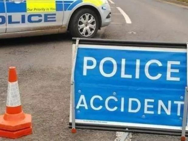 Two people died in a collision on the M1 near Sheffield this morning