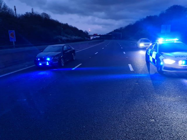 Tributes have been paid to two men, named as Codeye and Tyrone, after a fatal collision on the M1 near Sheffield last weekend
