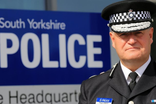 South Yorkshire's Chief Constable, Stephen Watson, is moving to Greater Manchester Police
