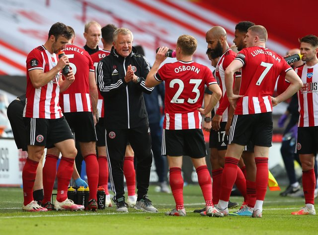 Sheffield United manager Chris Wilder reveals the ...