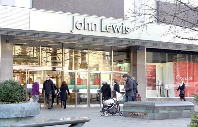 John Lewis Sheffield