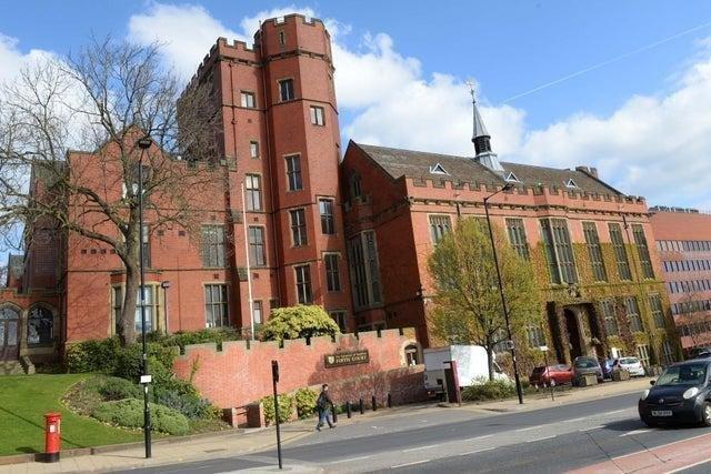 The university of Sheffield.