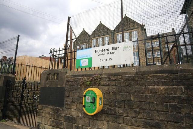 Hunters Bar Junior School.