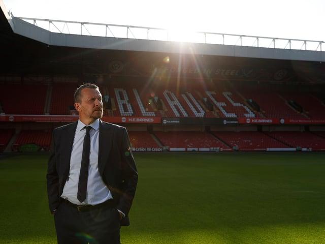 Sheffield United boss Slavisa Jokanovic at Bramall Lane: Darren Staples / Sportimage