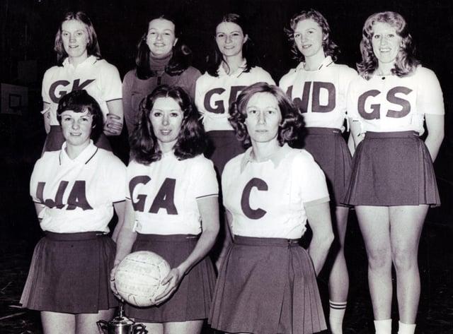 Sheffield Ladies Open Netball Team3 February 1977