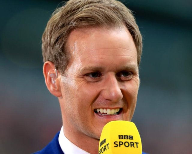 Dan Walker was described as the 'GOAT' by an award-winning young journalist he helped to break into the industry (pic: Mike Egerton/PA Wire)