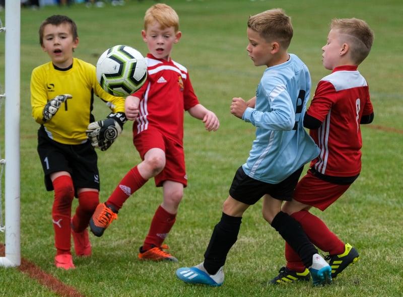 LJS Cup Football tournament at Handsworth