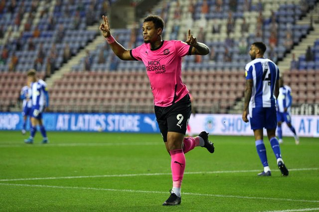 Sheffield United have been heavily linked with Peterborough United sensation Jonson Clarke-Harris. Lewis Storey/Getty