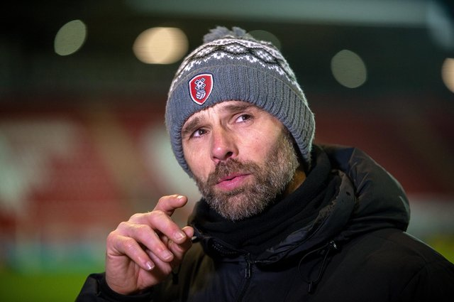 Rotherham United manager Paul Warne and his side are facing a fixture backlog