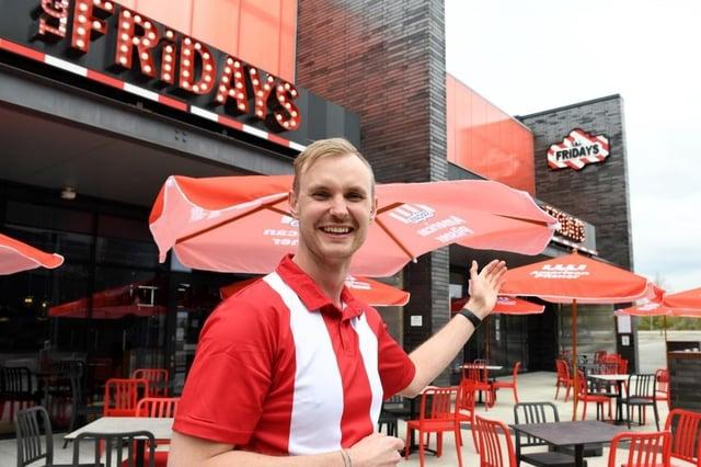 TGI Friday's will open its Sheffield restaurants on May 17.