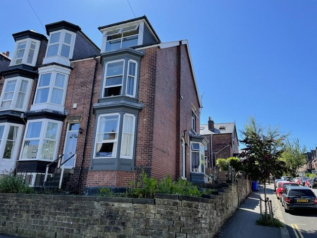 The property in Wayland Road, Hunters Bar, could be a family home.