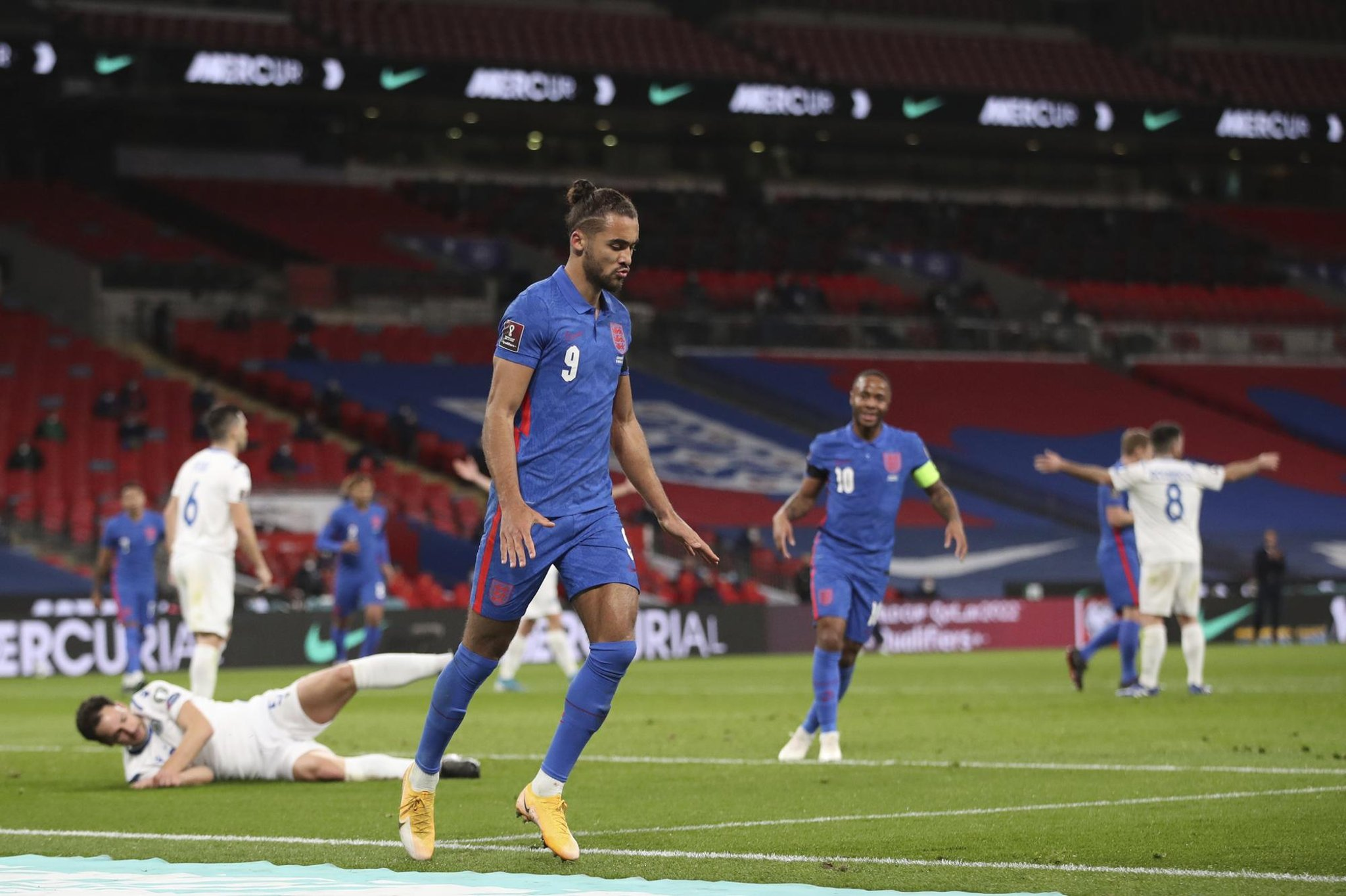 Dominic Calvert-Lewin at the double as England ease past San Marino | The  Star