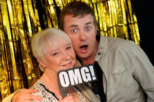 EastEnders star Shane Richie at Crystal Peaks, where he met Sheffield mum Sandra Hicks from Waterthorpe on Mothers Day 2014