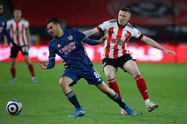 John Lundstram is now a Rangers player after leaving Sheffield United: Simon Bellis/Sportimage