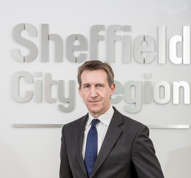 Sheffield City Region Mayor Dan Jarvis MP