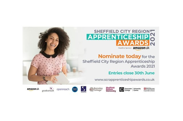 Do you employ the top apprentice in the Sheffield City Region? Or is your firm due recognition for its amazing mentoring? Here's how to enter.