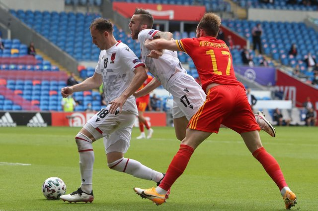 Sheffield United defender Rhys Norrington-Davies played 90 minutes as Wales drew 0-0 with Albania.