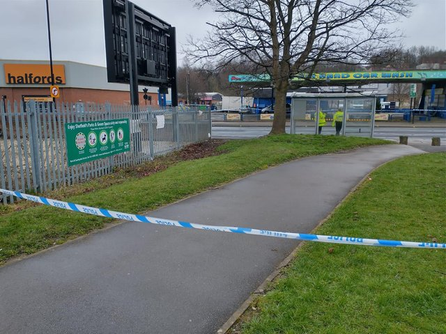 An 18-year-old man is in hospital after suffering injuries in a fight in Sheffield last night (Photo: Robert Cumber)