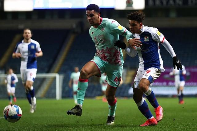 Swansea defender Ben Cabango will miss tonight's clash at SHeffield Wednesday.