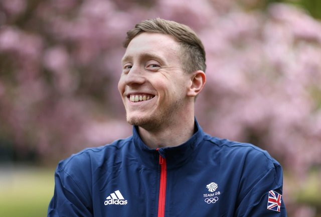 Max Litchfield of Great Britain poses for a photo to mark the official announcement of the swimming team selected to Team GB for the Tokyo 2020 Olympic Games at Loughborough University. (Photo by Alex Pantling/Getty Images for British Olympic Association)
