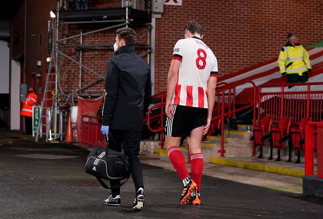 Will Sander Berge wave goodbye to Sheffield United this summer?: Andrew Yates/Sportimage