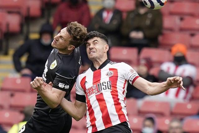 Sheffield United defender John Egan - Andrew Yates / Sportimage