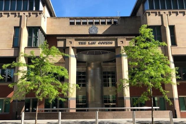 Sheffield Crown Court, pictured, heard how a nuisance who repeatedly breached a restraining order has been given a suspended prison sentence.