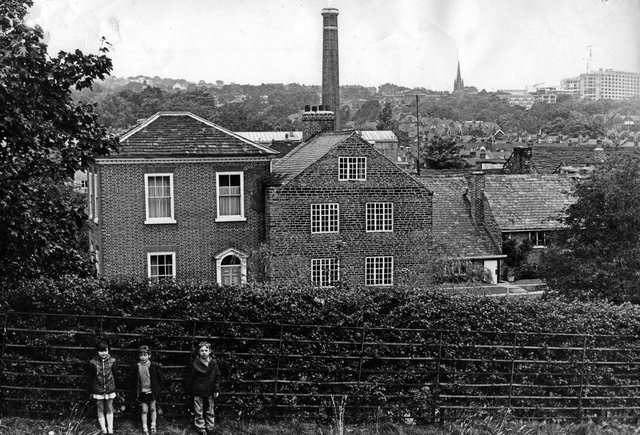 The Sharrow Snuff Mill still owned by family firm Wilson & Co