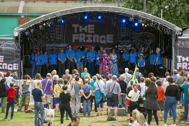 The Fringe at Tramlines in 2019. Picture Scott Merrylees