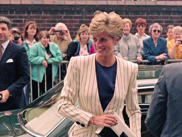 Diana was a regular visitor to South Yorkshire.