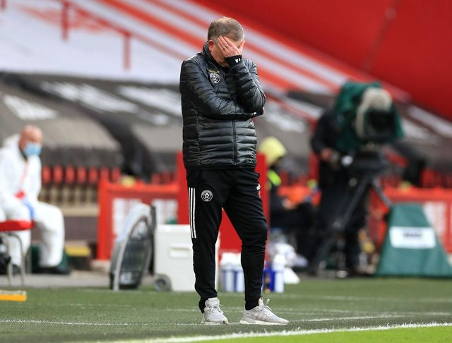 Chris Wilder. (Photo by Mike Egerton - Pool/Getty Images)