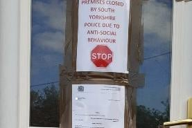 A drugs den was shut down in Sheffield.