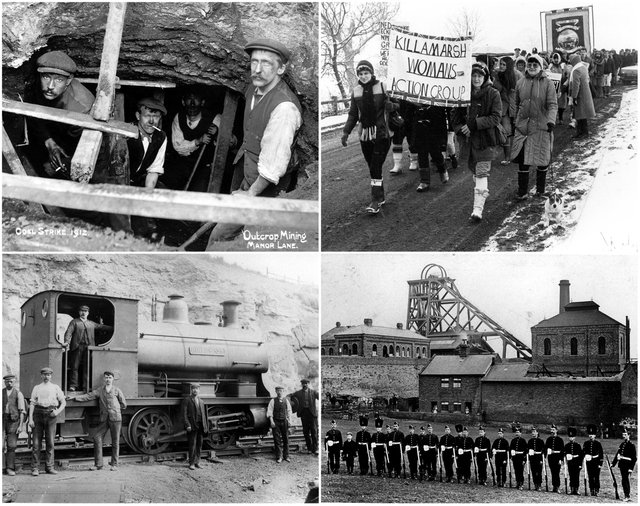 Sheffield Archives pictures of mining history