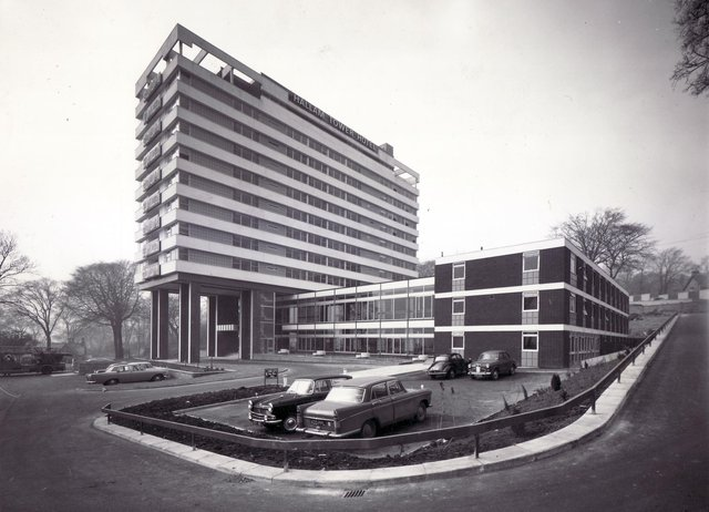 Hallam Tower Hotel, opened in Sheffield in 1965